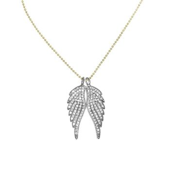Left Wing Right Wing Necklace