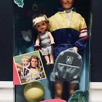 1996 Mattel Vintage Big Brother Ken Doll And Baby Brother Tommy, Antique Alchemy