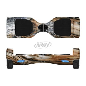 The Raw Aged Knobby Wood Full Body Skin Set for the Smart Drifting SuperCharged Transportation iiRov