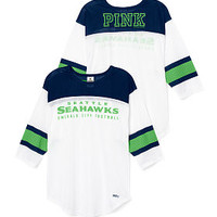 Seattle Seahawks Long Sleeve Boyfriend Tee - PINK - Victoria's Secret