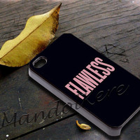 Flawless Beyonce Cover - iPhone 4 4S iPhone 5 5S 5C and Samsung Galaxy S3 S4 Case