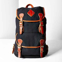 BDG Canvas + Leather Backpack-