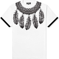 Dreamcatcher Yoke White Tee