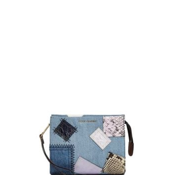 MARC JACOBS Denim Patchwork Clutch | Bloomingdales's