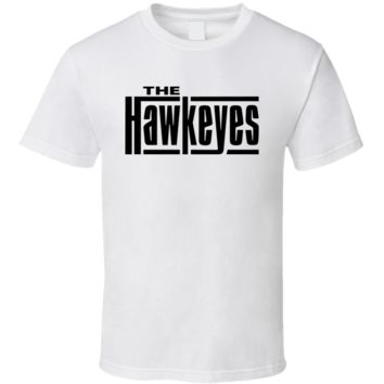 Musical Rock The Hawkeyes Cool Design  T Shirt