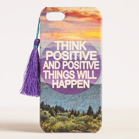 Think  Positive  #livehappy  iPhone  5  Cover  From  Natural  Life