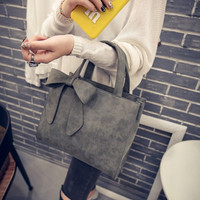 New Fashion Girl Women Ladies Leather Tote Purse Handbag Shoulder Bag