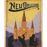 New Orleans: The Big Easy Posters by Anderson Design Group at AllPosters.com