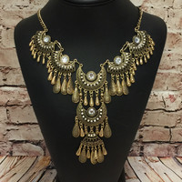 All for Me Necklace: Gold