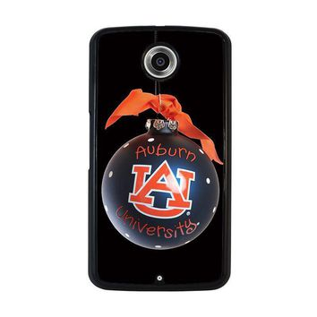 auburn university war eagle nexus 6 case cover  number 1