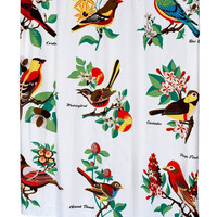 """Audubon"" Shower Curtain, 70"" x 72"""