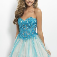 Homecoming dresses by Blush Prom Homecoming Style 9666