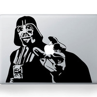 Star-Wars Darth  (1)  -- Macbook decal Mac decal Mac sticker Macbook sticker apple decal iPad iPhone skin