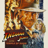 Indiana Jones and The Temple of Doom Movie Poster 11x17