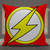 Flash Logo Marvel pillow case, pillow cover, cute and awesome pillow covers