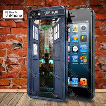 Inside Tardis Box Case For iPhone 5, 5S, 5C, 4, 4S and Samsung Galaxy S3, S4