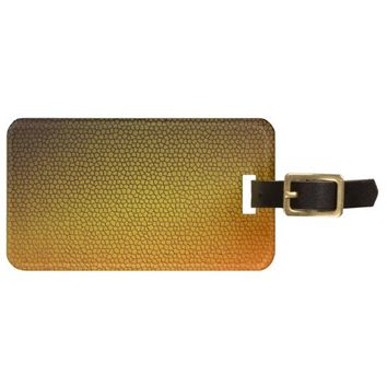 Honey Comb Luggage Tag