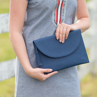 Bailey Crossbody Bag - Navy