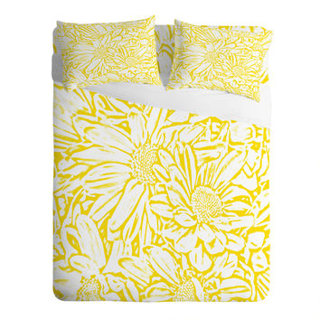 Lisa Argyropoulos Daisy Daisy In Golden Sunshine Sheet Set