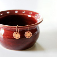 Earring Bowl  Pottery for Holding Earrings