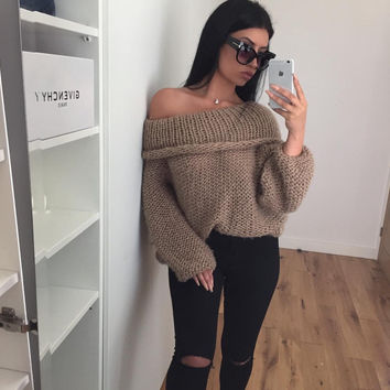 Mornings in Knit - Khaki