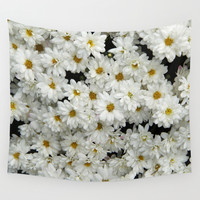 Daisyland Wall Tapestry by Armine Nersisian