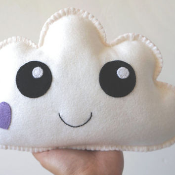 White Cloud, Cloud Pillow, Soft Toy,  Kawaii Cloud, Cloud Softie, Baby Gift, New Baby, Shower Gift, Nursery decor
