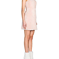 Fendi - Strapless Shearling Dress - Saks Fifth Avenue Mobile