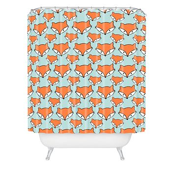 Allyson Johnson So Foxy Shower Curtain