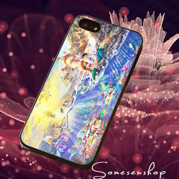Painting,  Ariel and Eric, The little mermaid/CellPhone,Cover,Case,iPhone Case,Samsung Galaxy Case,iPad Case,Accessories,Rubber Case/2-4-4