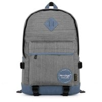 TinoTrade Linen Cotten Backpacks For College Men Cool Travel Rucksack (Grey):Amazon:Clothing