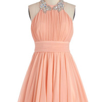 Peach to Meet You Dress