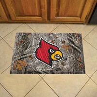 University of Louisville Scraper Mat 19x30 - Camo