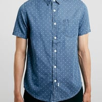 BLUE CROSS SHORT SLEEVE SHIRT - TM LTD - Clothing - TOPMAN USA