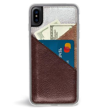 Gilded Wallet iPhone X Case