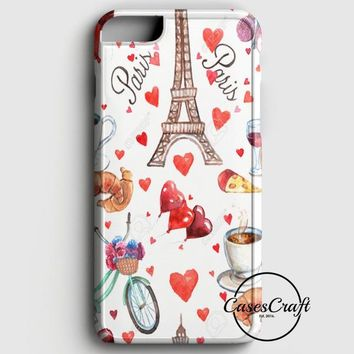 Eiffel Paris Sketch iPhone 6 Plus/6S Plus Case | casescraft