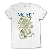 MGMT Music Merchandise Store  - MGMT  Girl's Surf T-shirt