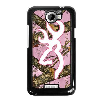CAMO BROWNING PINK HTC One X Case Cover