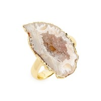 Love's Affect Geode Statement Ring | Nordstrom