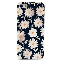 "Cute funny Picture Hard Back Case Cover Skin For Apple iPhone5 5G 5S -Beautiful white daisy (Package includes: 1 X Screen Protector and Stylus Pen image""Gift_Source"")"