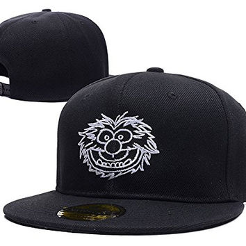 XINMEN The Muppets Animal Face Logo Adjustable snapback Embroidery Hats Caps
