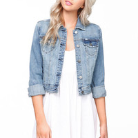 TRUE BLUE DENIM JACKET