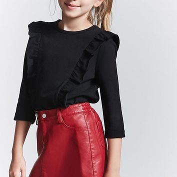 Girls Ruffle Top (Kids)