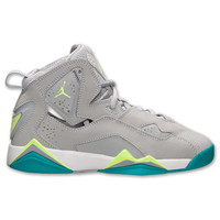 Girls' Grade School Jordan True Flight Basketball Shoes