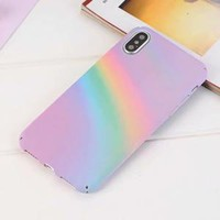 Rainbow Star iPhone Case