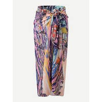 Abstract Pattern Beach Blanket