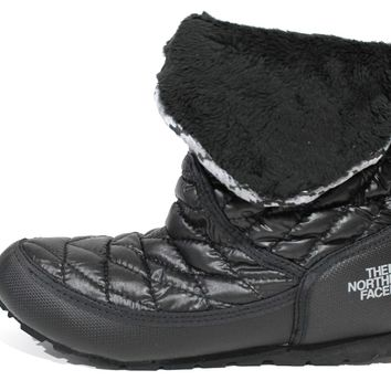 The North Face Women's Thermoball Roll-Down Booties II Black Boot