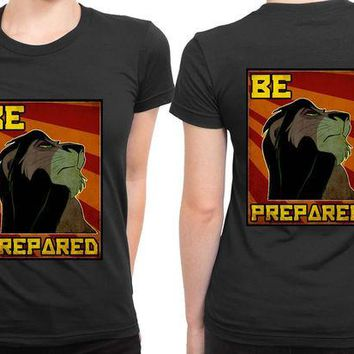 DCCKG72 The Lion King Be Prepared 2 Sided Womens T Shirt