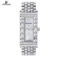 Swarovski LOVELY CRYSTAL SQUARE Swiss WATCH Stainless Steel #5096684