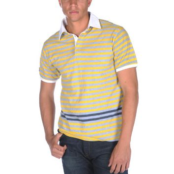 Under Two Flags Stripe Polo